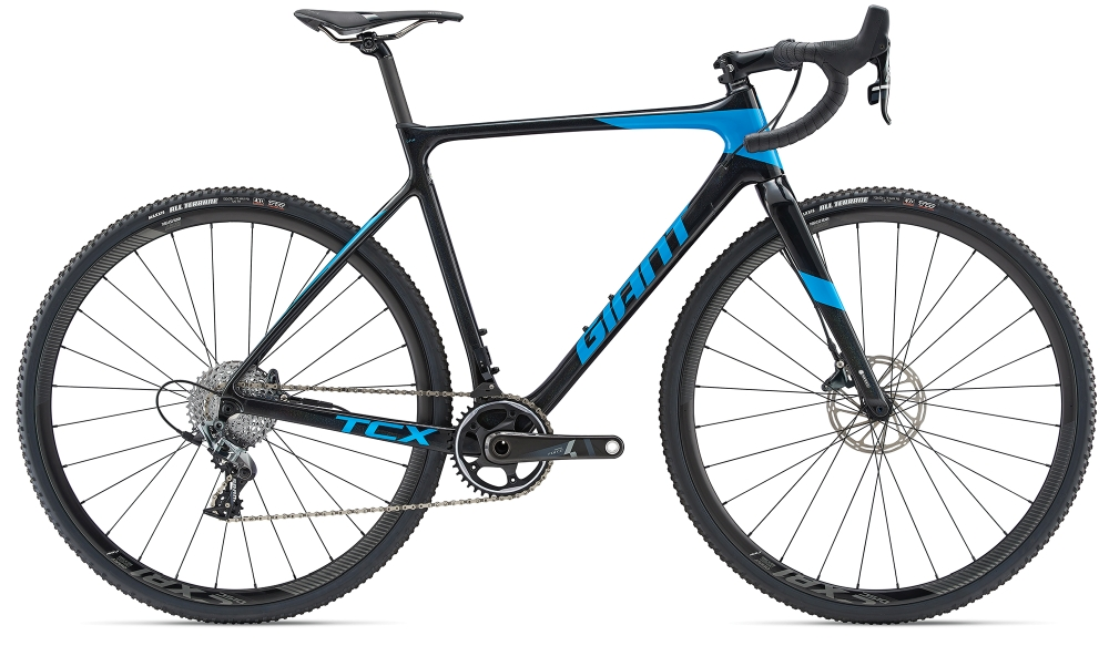 GIANT TCX Advanced Pro 1 XL Rainbowblack-Vibrantblue - GIANT TCX Advanced Pro 1 XL Rainbowblack-Vibrantblue