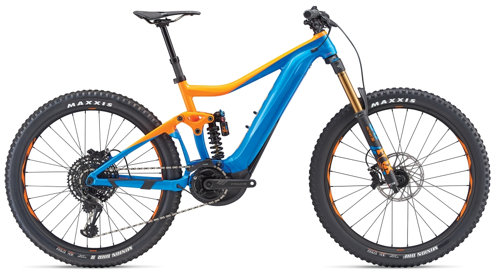 GIANT Trance SX E+ 0 Pro S Blue-Orange - Fahrradhaus Haske