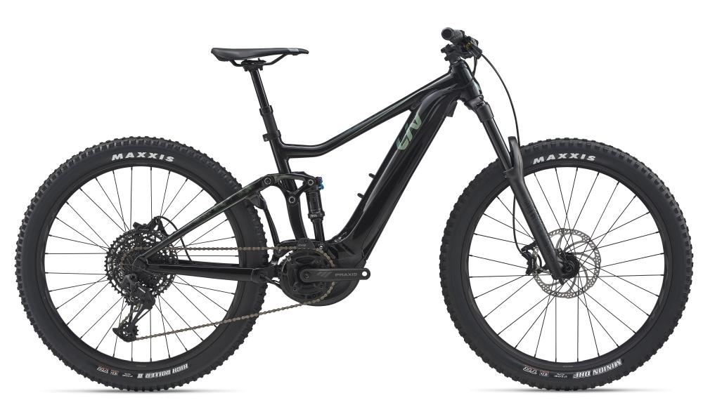 Liv Intrigue E+ 2 Pro XS Black-Metallicred - Bike Maniac