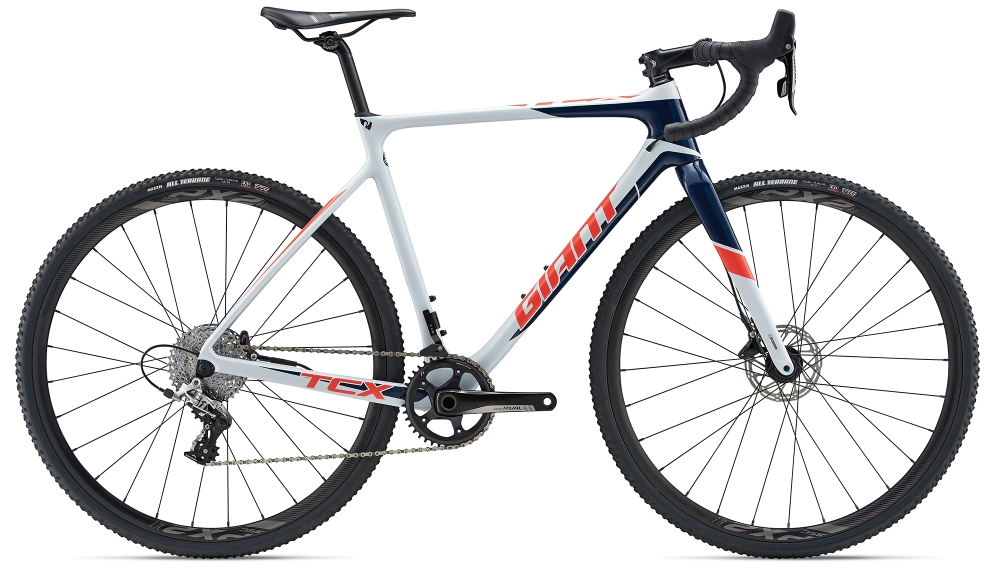 GIANT TCX Advanced Pro 2 M Skygrey-Navyblue-Red - GIANT TCX Advanced Pro 2 M Skygrey-Navyblue-Red