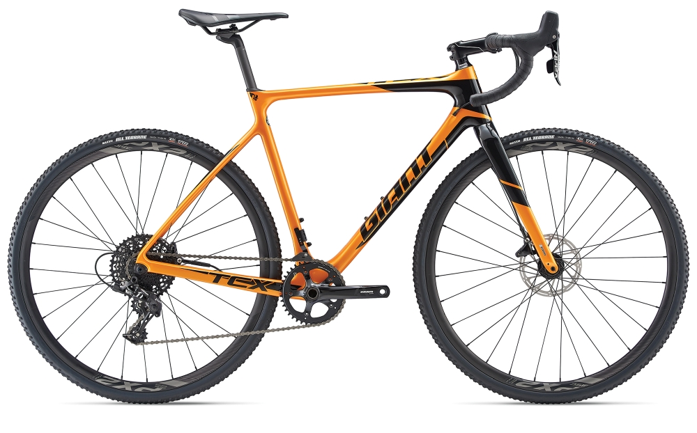 GIANT TCX Advanced XL Metallicorange-Black - GIANT TCX Advanced XL Metallicorange-Black