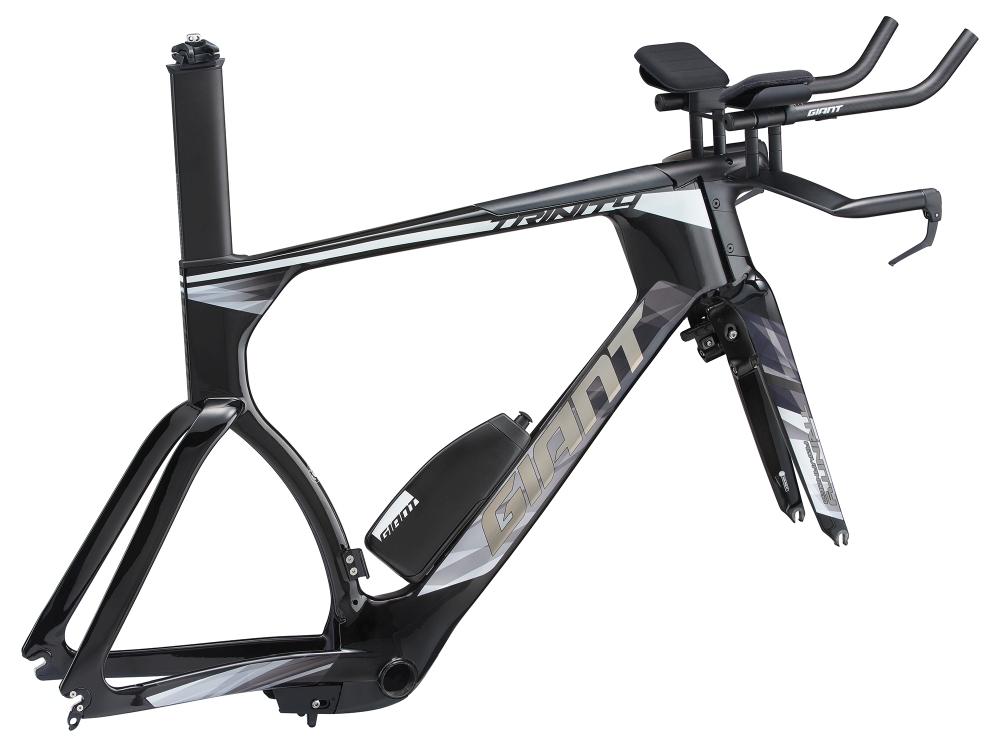 GIANT Trinity Advanced Pro TimeTrial Rahmenkit S Carbonblack-Chrome - Bike Maniac