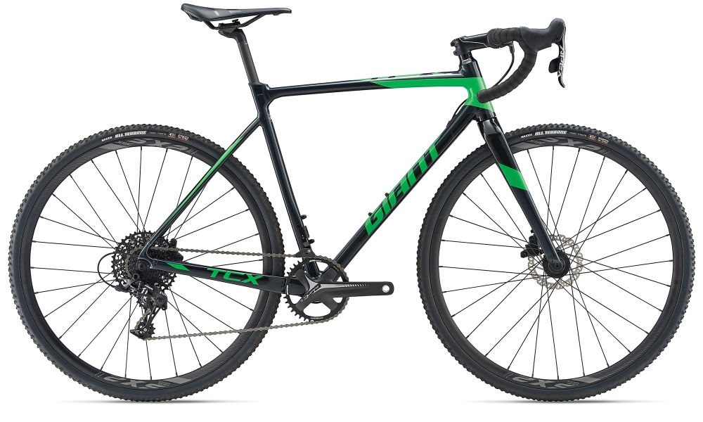 GIANT TCX SLR XL Metallicblack-Flashgreen - GIANT TCX SLR XL Metallicblack-Flashgreen