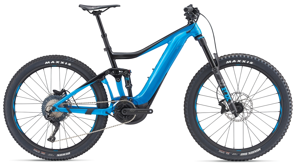 GIANT Trance E+ 2 Pro M Metallicblue-Metallicblack - GIANT Trance E+ 2 Pro M Metallicblue-Metallicblack