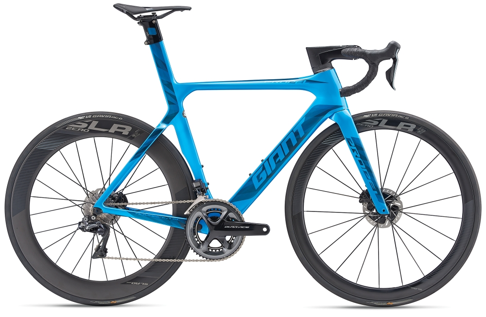 GIANT Propel Advanced SL Disc L Metallicblue-Black - Fahrradhaus Haske