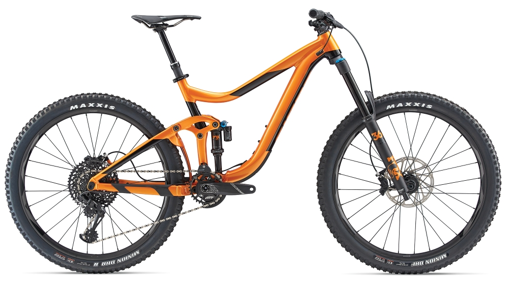 GIANT Reign 1.5 S Metallicorange-Black - GIANT Reign 1.5 S Metallicorange-Black