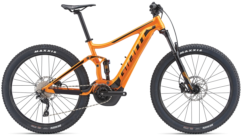 GIANT Stance E+ 1 S Metallicorange-Black - Bike Maniac