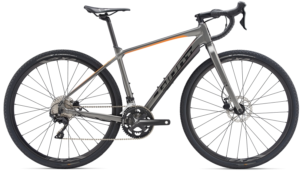 GIANT ToughRoad SLR GX 0 ML Charcoalgrey-Orange-Black Matt - GIANT ToughRoad SLR GX 0 ML Charcoalgrey-Orange-Black Matt