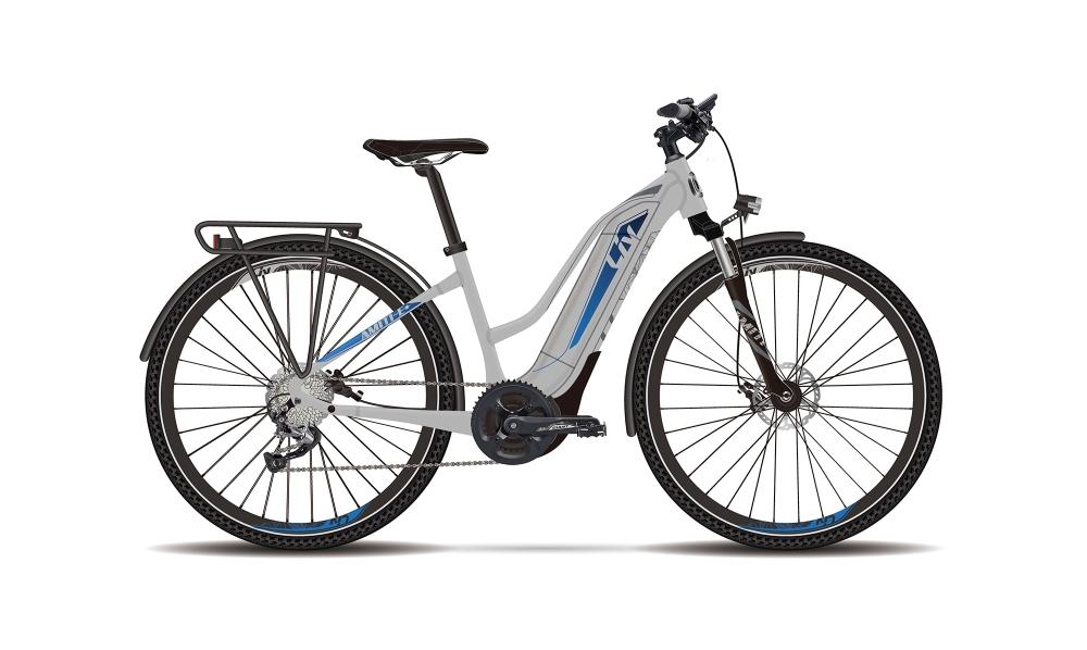 Liv Amiti-E+ 0 L Silver-Blue Matt - Fahrradhaus Haske