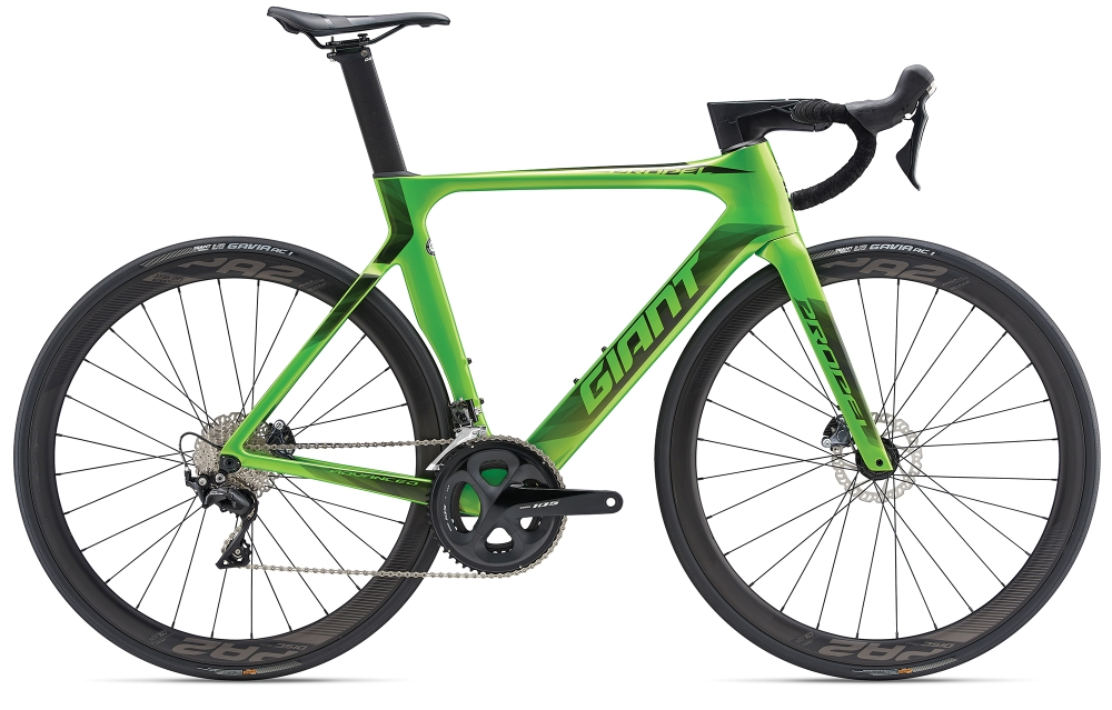 GIANT Propel Advanced 2 Disc M Metallicgreen-Black - Fahrradhaus Haske