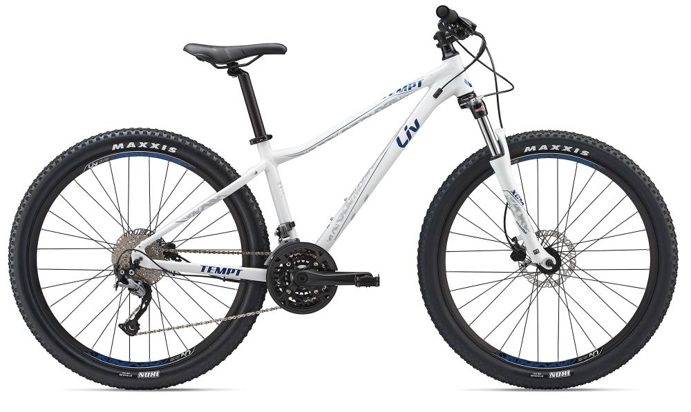 Liv Tempt 2 XS White-Trueblue-Silver - Bike Maniac
