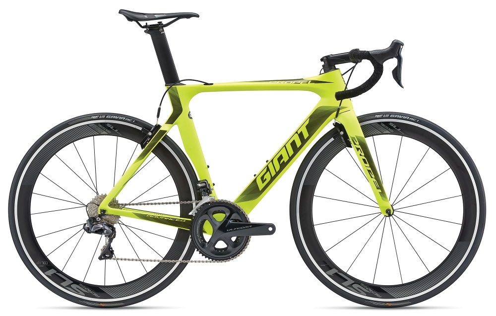 GIANT Propel Advanced 0 S Neonyellow-Black Matt - Bike Maniac
