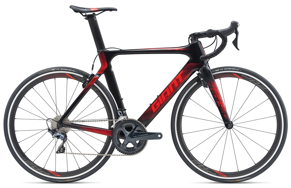 GIANT Propel Advanced 1 L Carbonblack-Purered - GIANT Propel Advanced 1 L Carbonblack-Purered