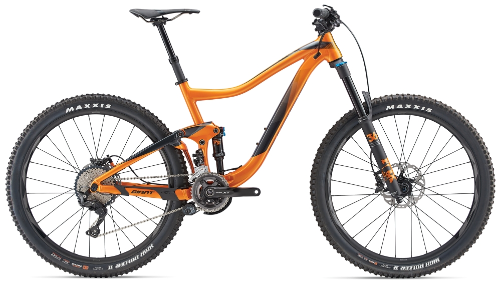 GIANT Trance 1.5 S Metallicorange-Black - Bike Maniac