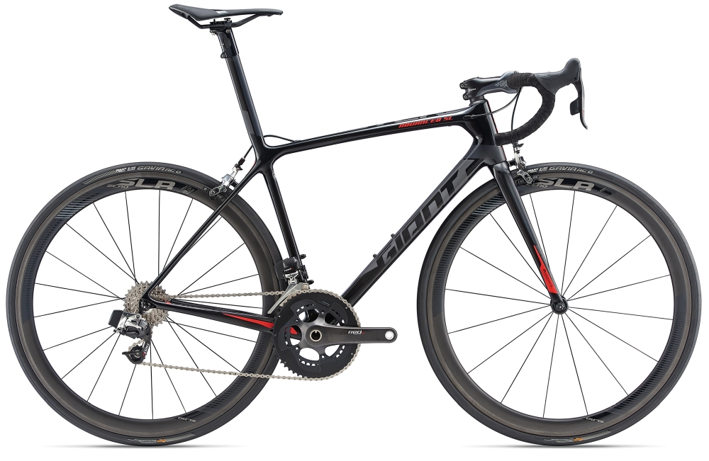 GIANT TCR Advanced SL M Carbonblack-Grey Matt-Gloss - Fahrradhaus Haske