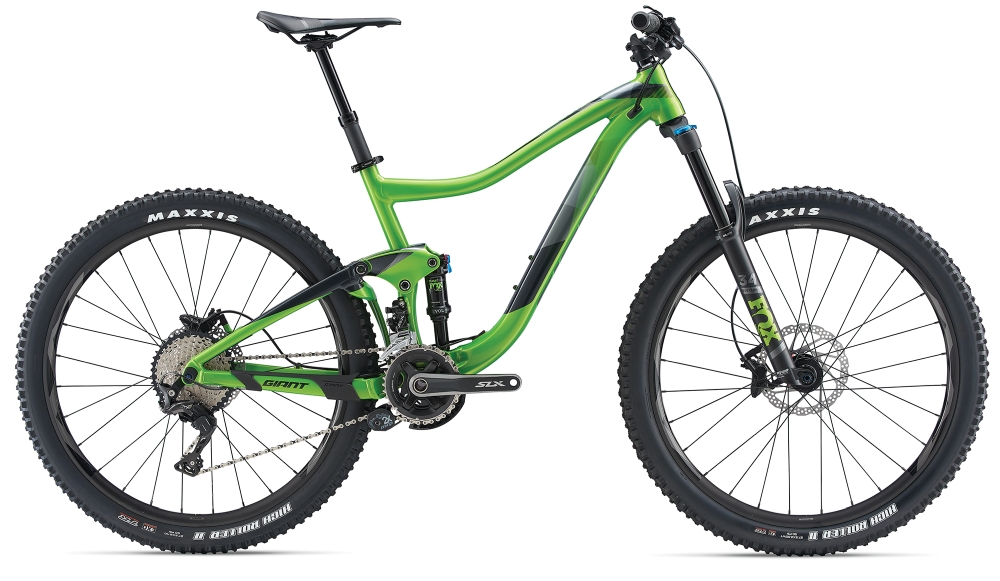 GIANT Trance 2 S Metallicgreen-Black - Bike Maniac