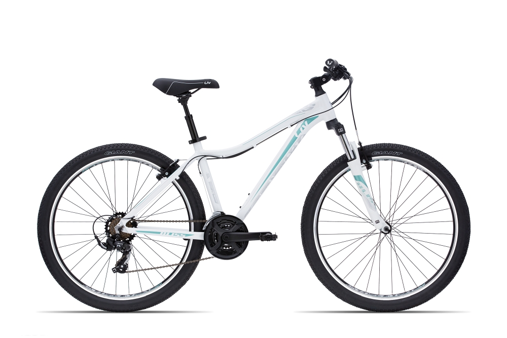 Liv Bliss Comfort 2 M Pearlwhite-Icegreen-Silver Matt - Fahrradhaus Haske