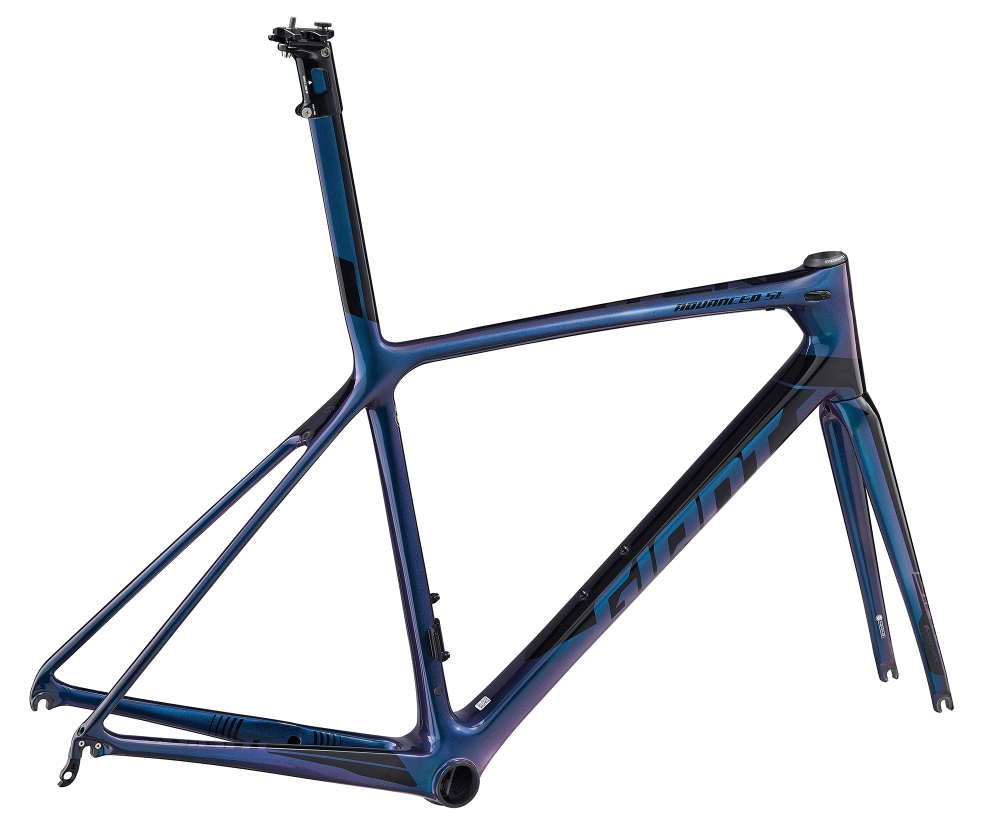 GIANT TCR Advanced SL Rahmenkit L Chameleonblue-Black - Fahrradhaus Haske