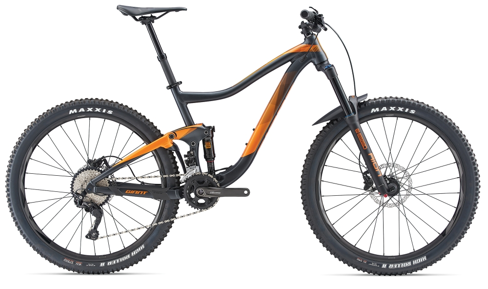 GIANT Trance 3 S Metallicblack-Orange Matt - Bike Maniac