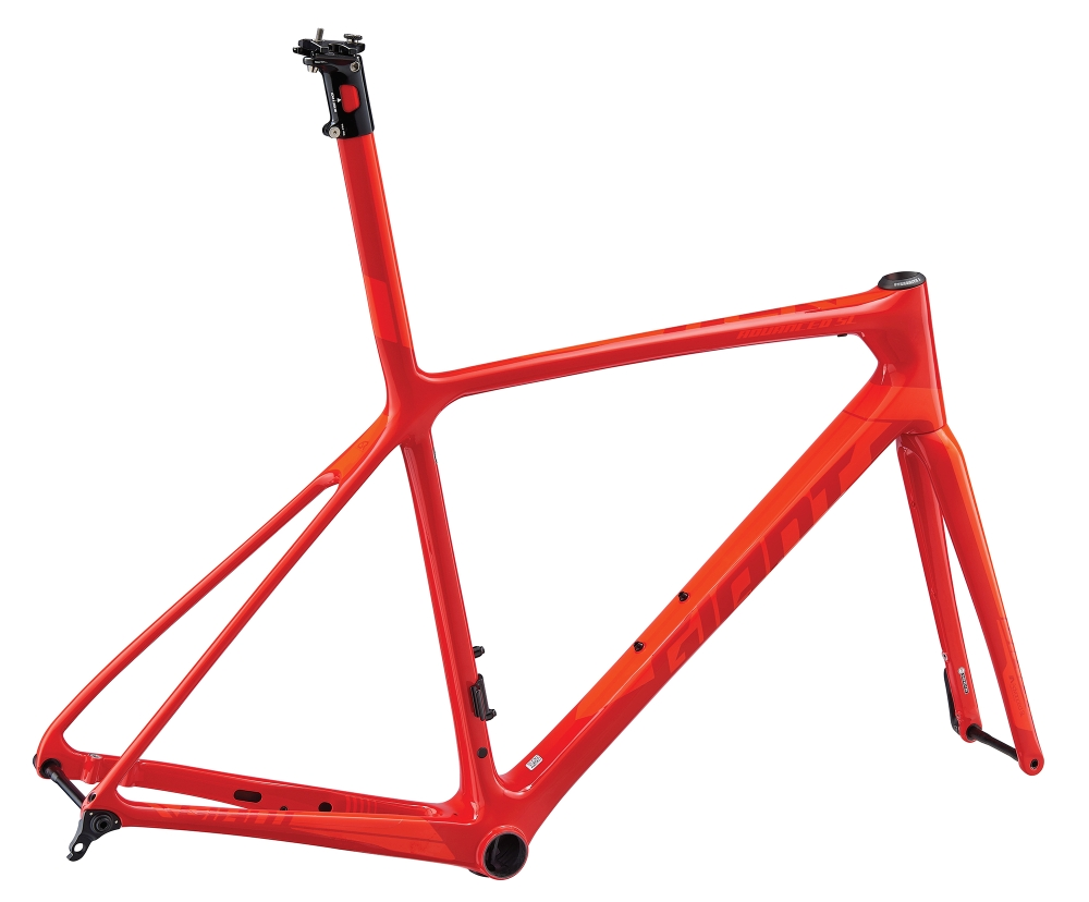 GIANT TCR Advanced SL Disc Rahmenkit L Purered-Neonred - GIANT TCR Advanced SL Disc Rahmenkit L Purered-Neonred