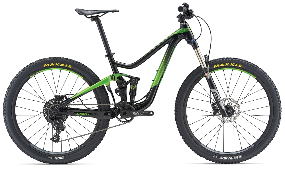 GIANT Trance jr. 26´´ Black-Metallicgreen - GIANT Trance jr. 26´´ Black-Metallicgreen