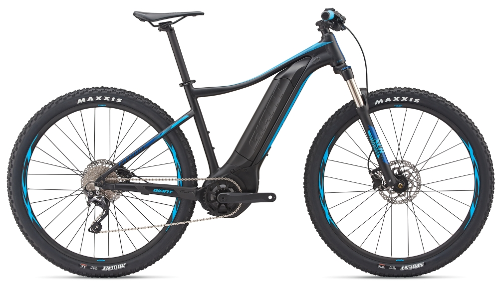 GIANT Fathom E+ 2 29er L Black-Blue Matt - GIANT Fathom E+ 2 29er L Black-Blue Matt