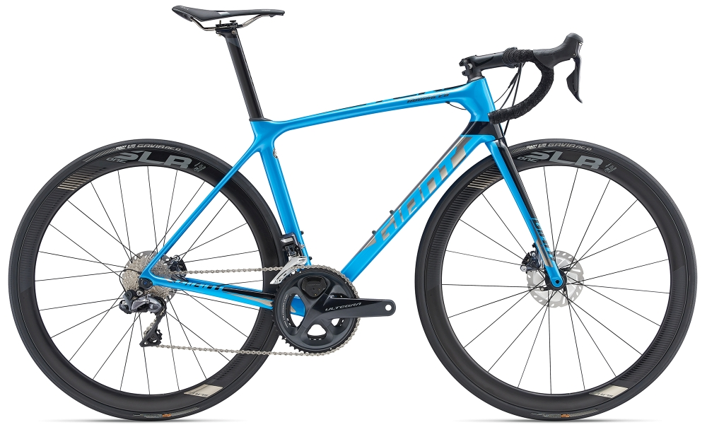 GIANT TCR Advanced Pro 0 Disc L Metallicblue-Chrome - Fahrradhaus Haske