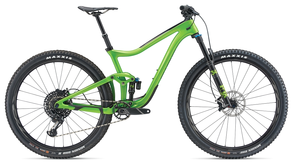GIANT Trance Advanced Pro 29er L Metallicgreen-Carbonblack - Fahrradhaus Haske