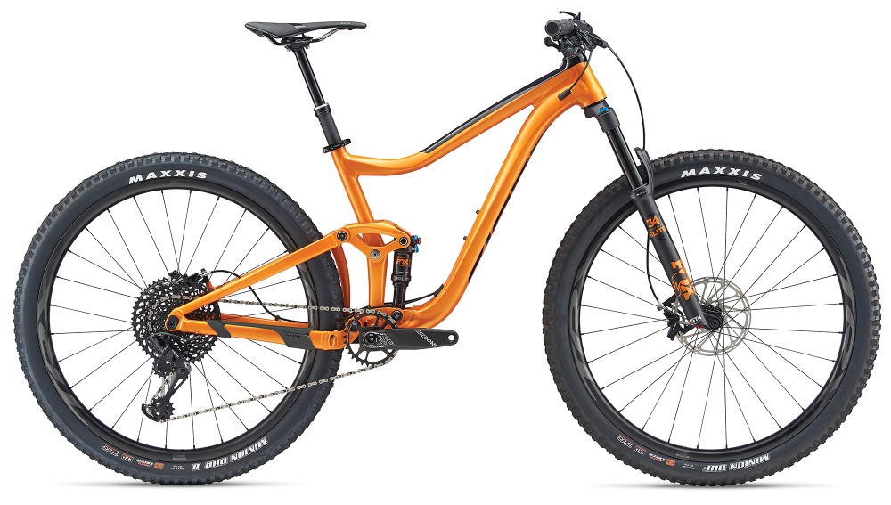 GIANT Trance 1 29er S Metallicorange-Black - Bike Maniac