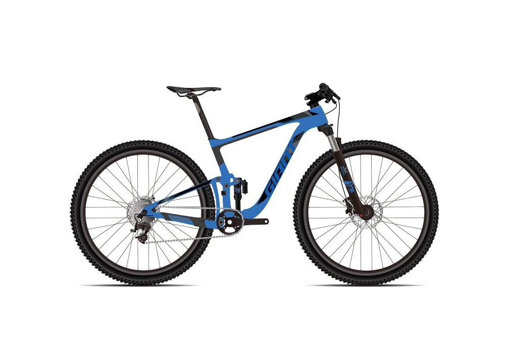 GIANT Anthem Advanced Pro 0 XL Metallicblue-Carbonblack - GIANT Anthem Advanced Pro 0 XL Metallicblue-Carbonblack