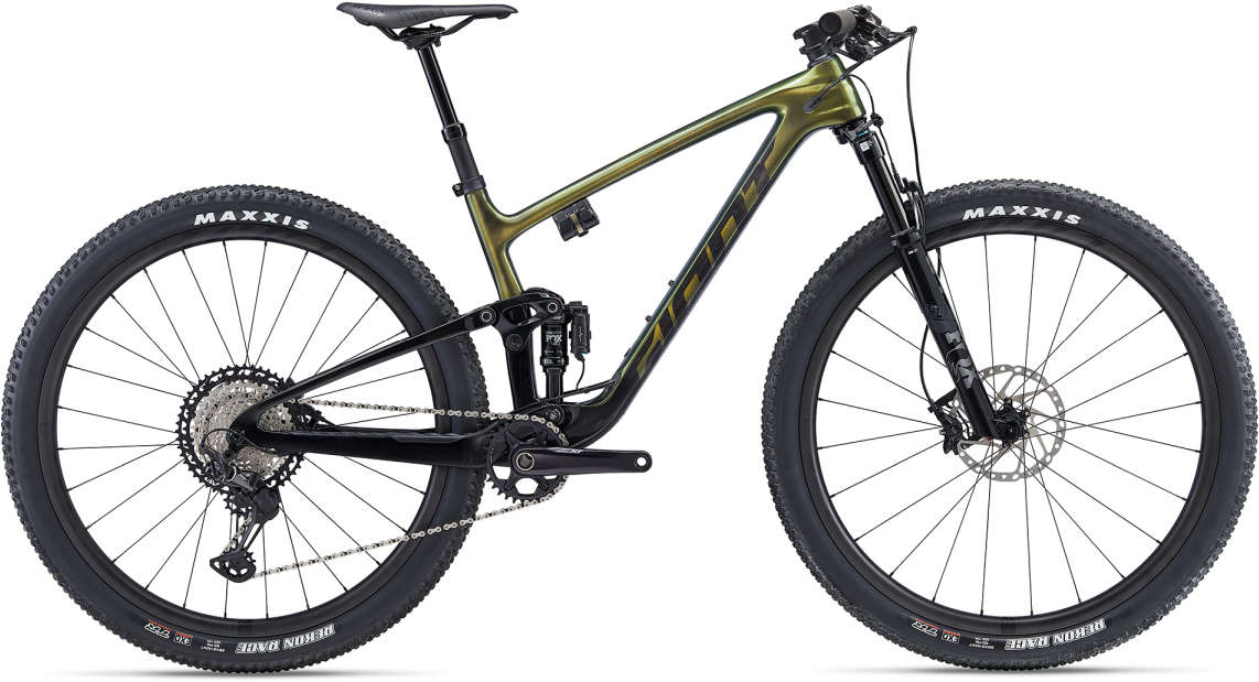 GIANT Anthem Advanced Pro 1 L Charcoalgrey-Carbonblack-Iris Matt-Gloss - Fahrradhaus Haske