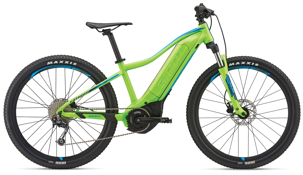 GIANT Fathom E+ jr. 26´´ Neongreen-Blue Matt - Fahrradhaus Haske