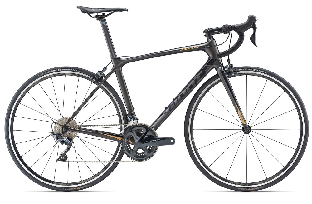GIANT TCR Advanced 1 L Charcoalgrey-Black Matt-Gloss - Fahrradhaus Haske
