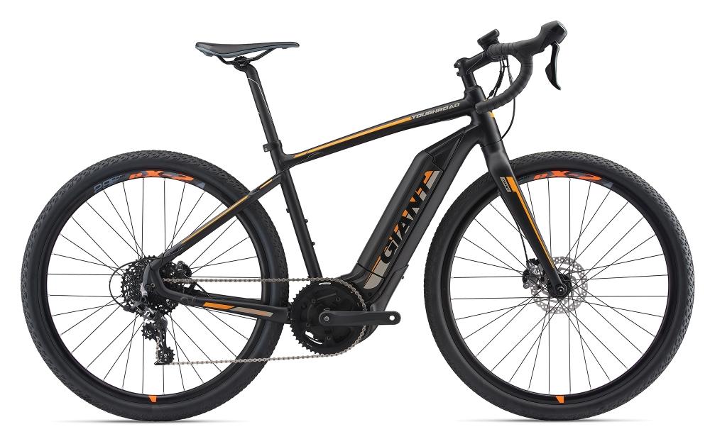 GIANT ToughRoad E+ GX L Black-Neonorange-Grey Matt-Gloss - Fahrradhaus Haske