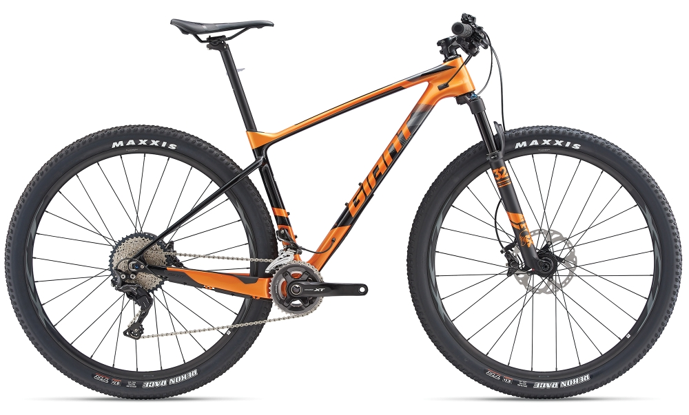 GIANT XTC Advanced 1.5 S Metallicorange-Carbonblack - Fahrradhaus Haske