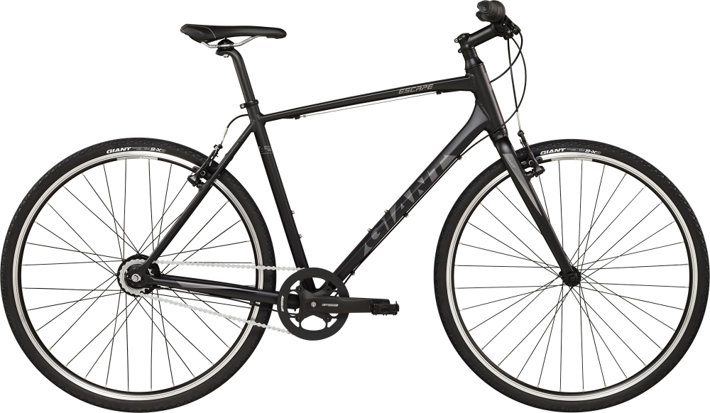 GIANT Escape N8 L Black-Grey - GIANT Escape N8 L Black-Grey