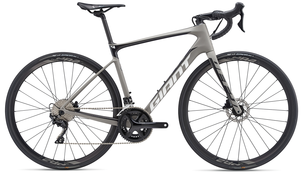 GIANT Defy Advanced 2 S Grey-Black-White Matt-Gloss - Bike Maniac