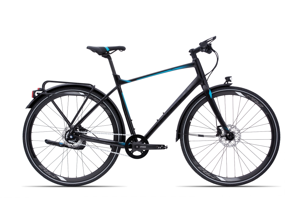 GIANT FastTour SLR CS XL BrushAluminium-Black-Blue Matt-Gloss - Fahrradhaus Haske