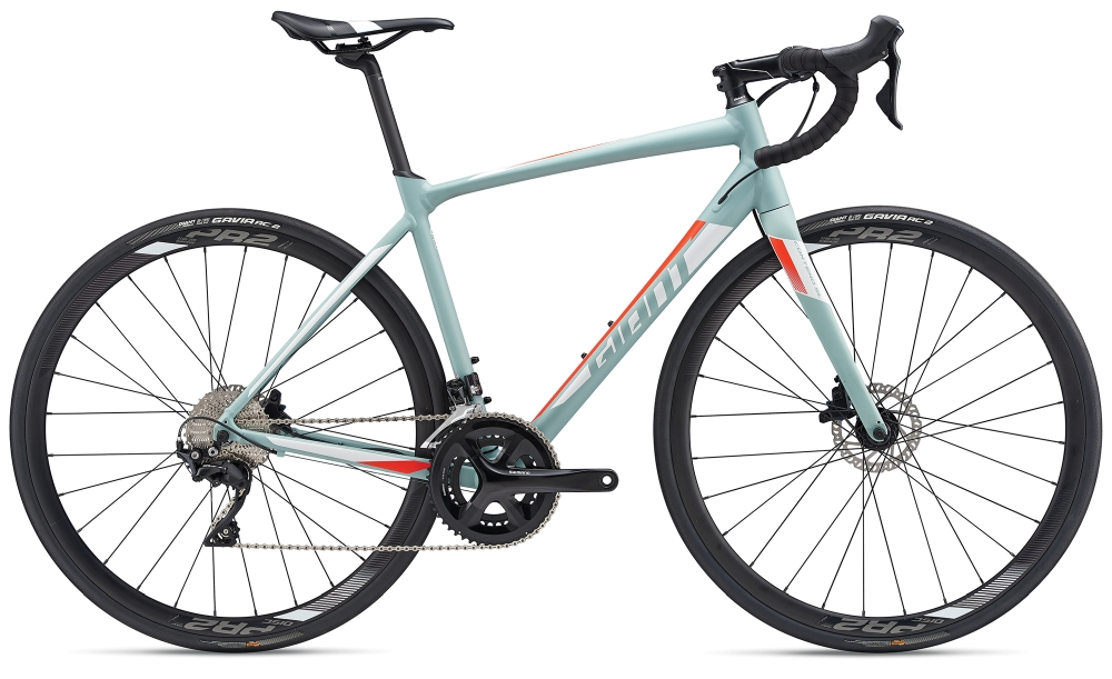 GIANT Contend SL 1 Disc XL Greygreen-White Matt - GIANT Contend SL 1 Disc XL Greygreen-White Matt