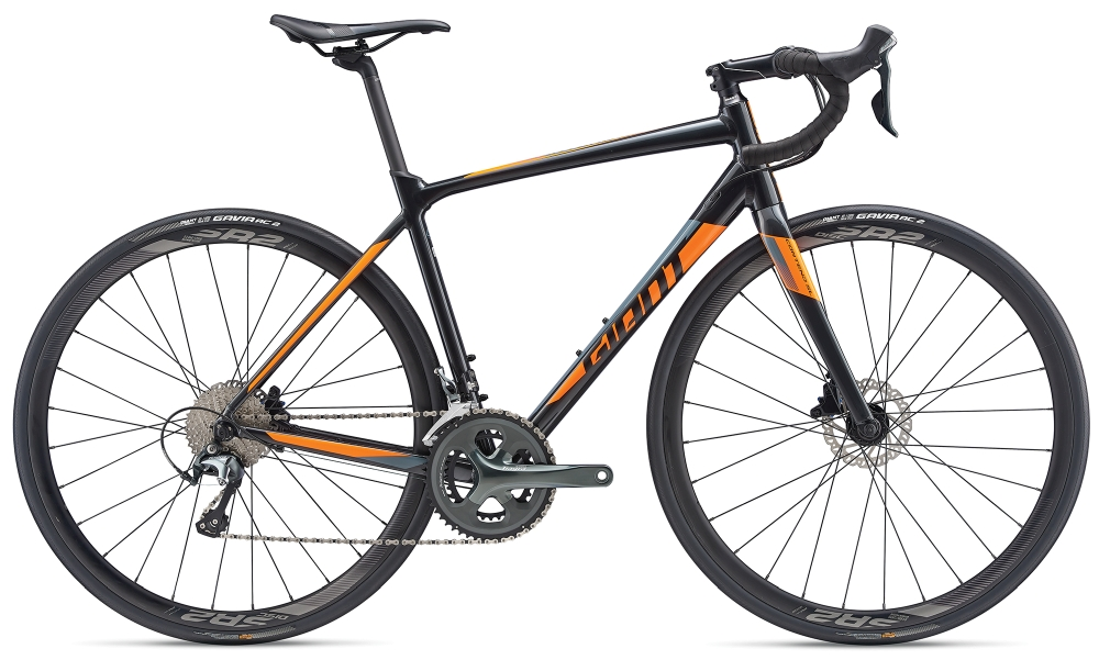 GIANT Contend SL 2 Disc M Gunmetalblack-Orange - Fahrradhaus Haske