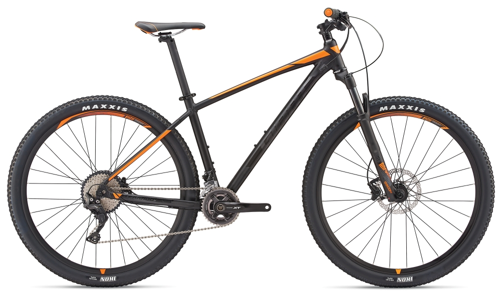 GIANT Terrago 2 S Metallicblack-Neonorange Matt-Gloss - Bike Maniac