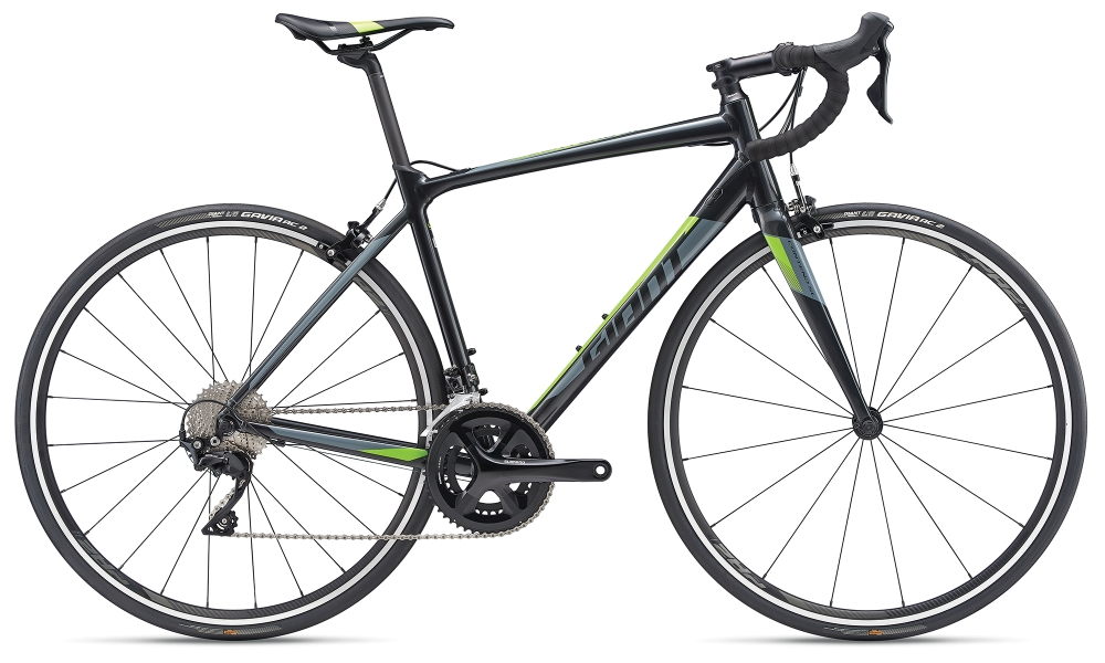GIANT Contend SL 1 S Gunmetalblack-Grey-Green - Bike Maniac