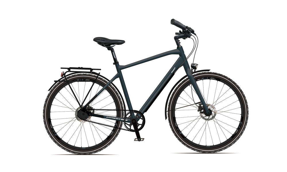 GIANT AnyTour CS 1 XL Steelblue-Black-Re?ectivesilver Matt - Fahrradhaus Haske