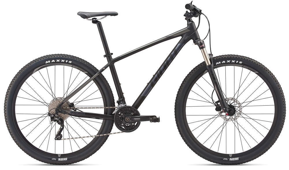 GIANT Talon 1 29er M Black-Charcoalgrey Matt-Gloss - Bike Maniac