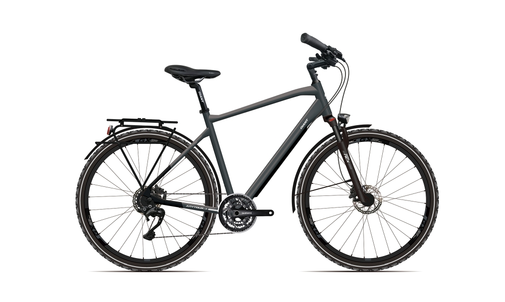 GIANT AnyTour RS 1 L Metalliccharcoalgrey-Black-Re?ectivesilver - Fahrradhaus Haske