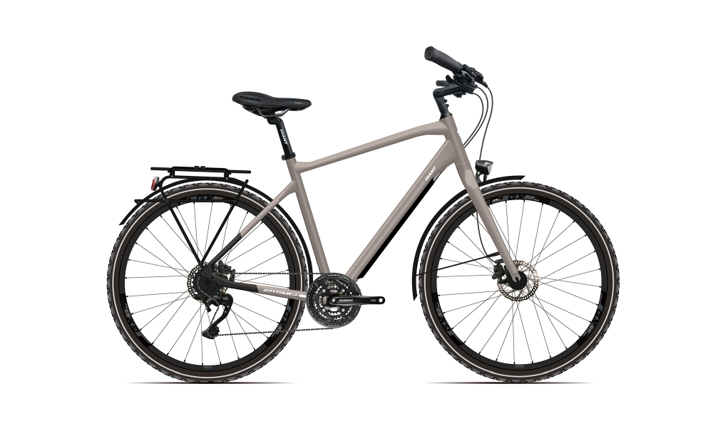 GIANT AnyTour RS 2 M Smokesilver-Black-Re?ectivewhite Matt - Fahrradhaus Haske