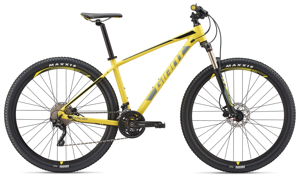 GIANT Talon 1 29er L Lemonyellow-Grey-Black Matt - Fahrradhaus Haske