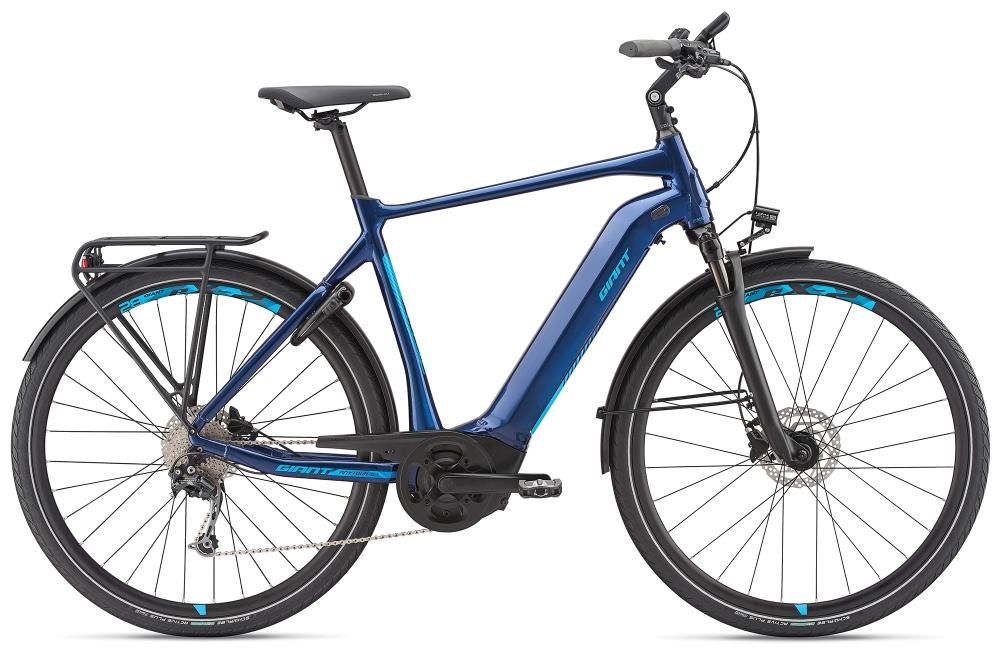 GIANT AnyTour E+ 2 GTS S Metallicblue - Bike Maniac