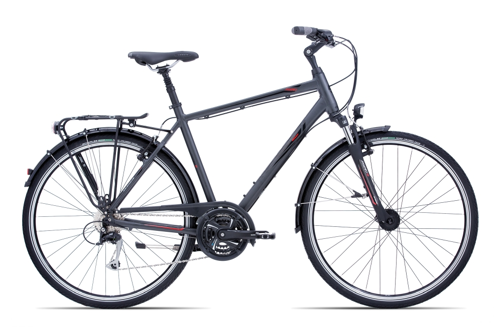 GIANT Argento GTS L Charcoalgrey-Black-Red Matt-Gloss - Fahrradhaus Haske