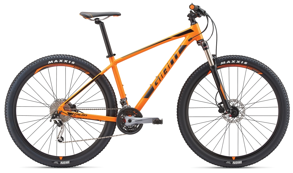 GIANT Talon 2 29er XL Neonorange-Black-Grey - Bike Maniac